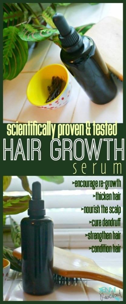 Hair Growth Serum DIY  Oils that Promote Hair Growth DIY Hair Growth Serum