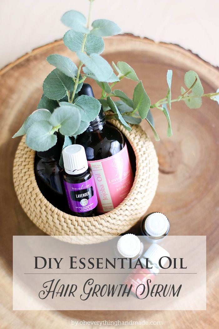 Hair Growth Serum DIY  DIY Essential Oil Hair Growth Serum