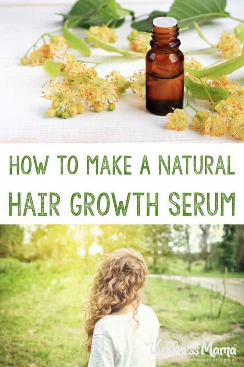 Hair Growth Serum DIY  Natural Hair Growth Serum Recipe