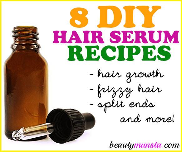 Hair Growth Serum DIY  8 Best DIY Hair Serum Recipes for All Hair Types More