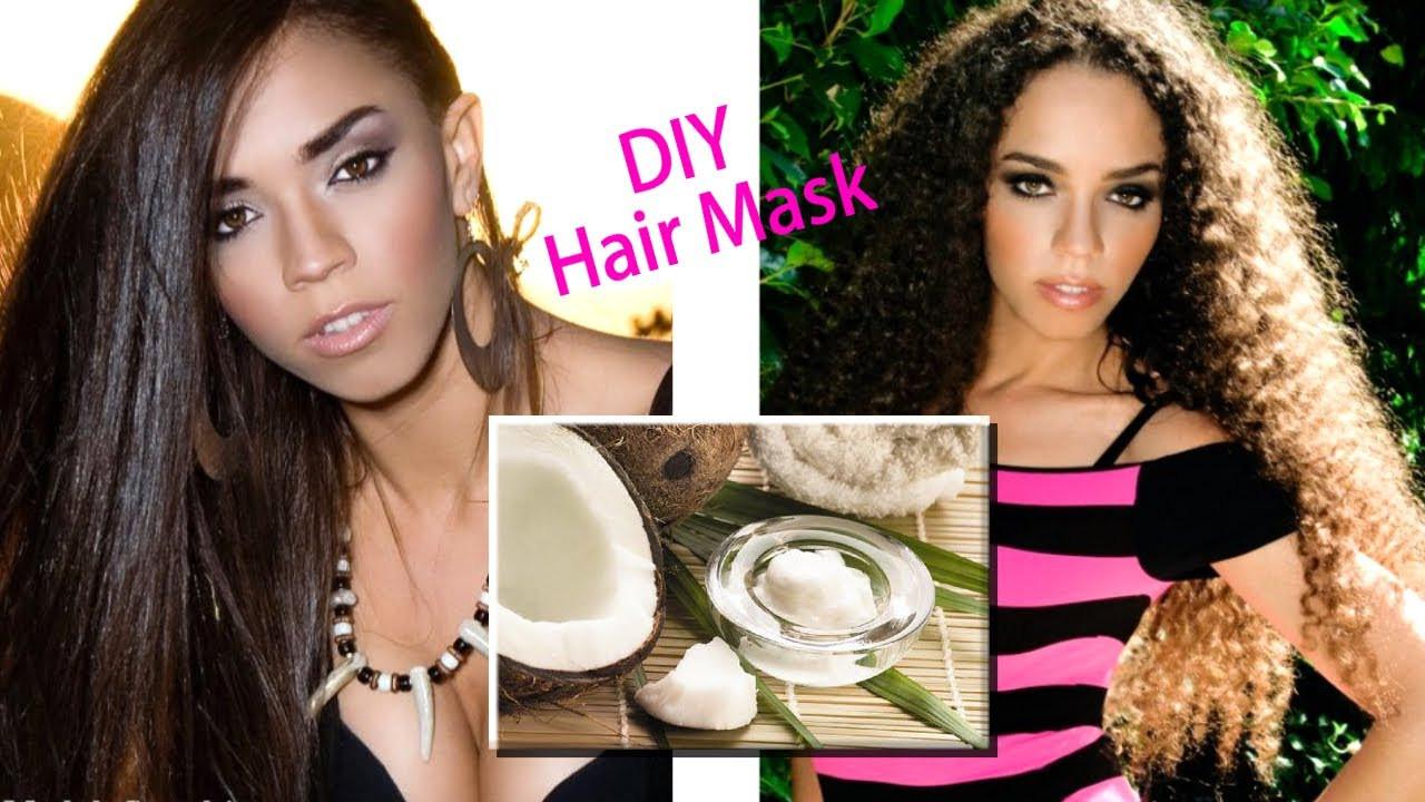 Hair Masks For Damaged Hair DIY  DIY Hair Mask for Hair Growth & Damaged Hair & My Top Hair