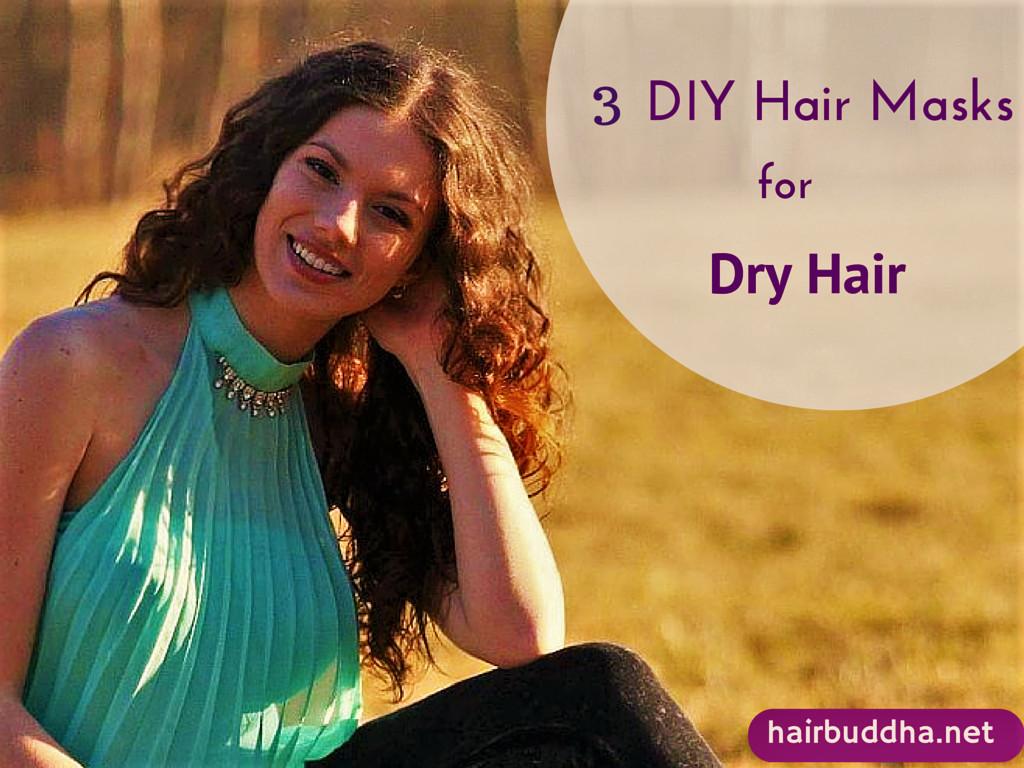 Hair Masks For Damaged Hair DIY  Top 3 Homemade Hair Masks for Dry Damaged Hair hair buddha