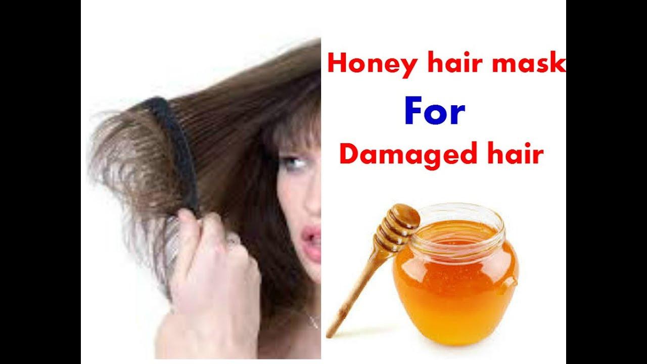 Hair Masks For Damaged Hair DIY  DIY Homemade Honey hair mask for Damaged hair