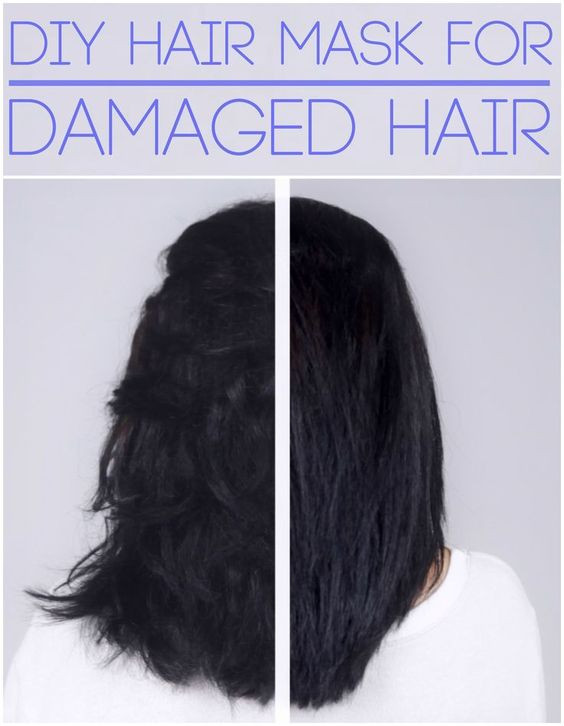 Hair Masks For Damaged Hair DIY  Dry damaged hair Diy hair and Coconut on Pinterest