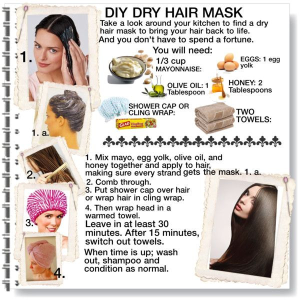 "Hair Masks For Damaged Hair DIY  ""DIY Dry Hair Mask"" by cathy1965 on Polyvore"
