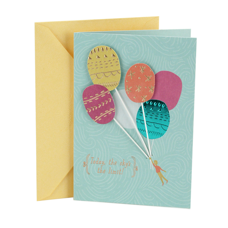 Hallmark Online Birthday Card  Hallmark Birthday Greeting Card Balloons Walmart