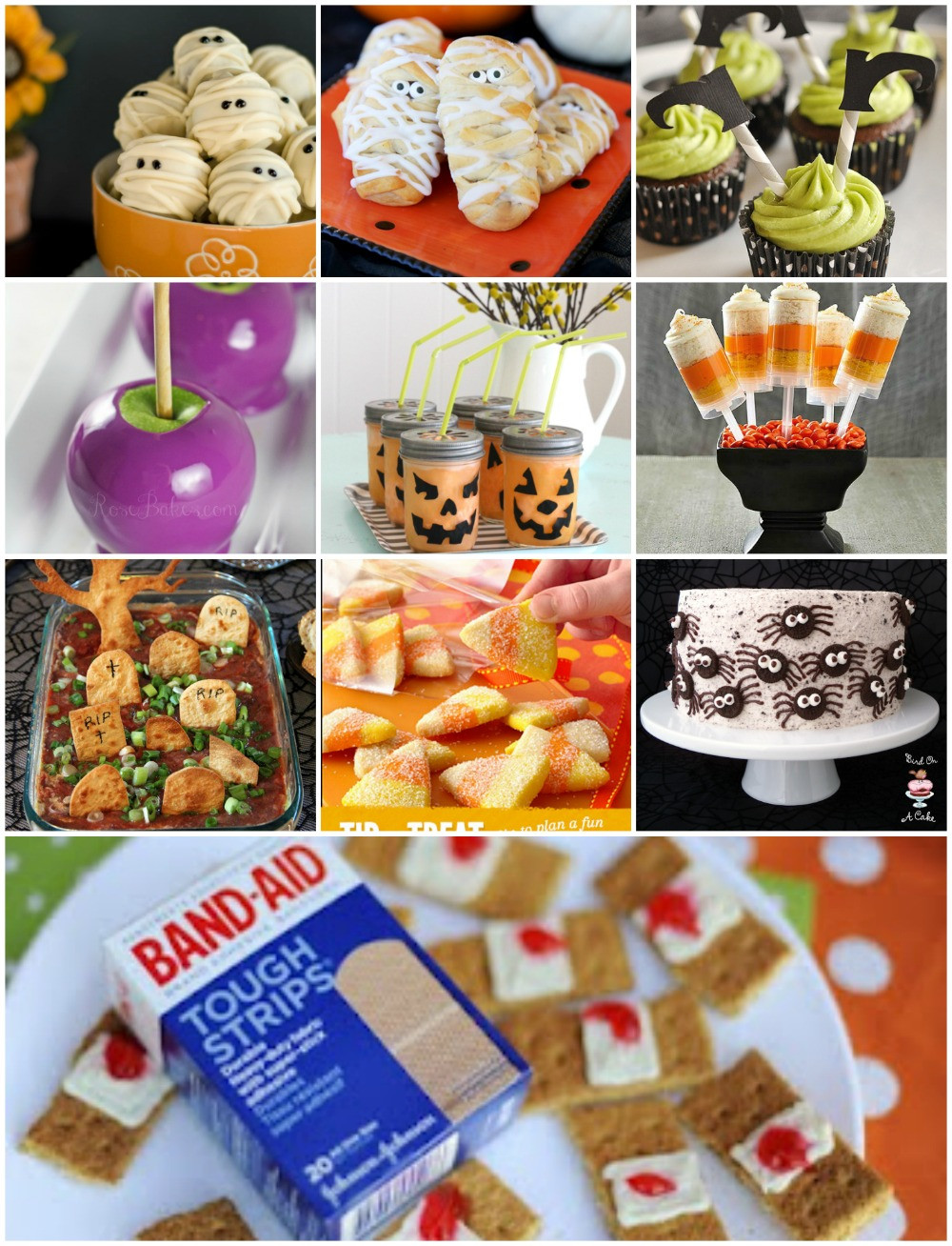 Halloween Party Snack Ideas  Halloween Party Food