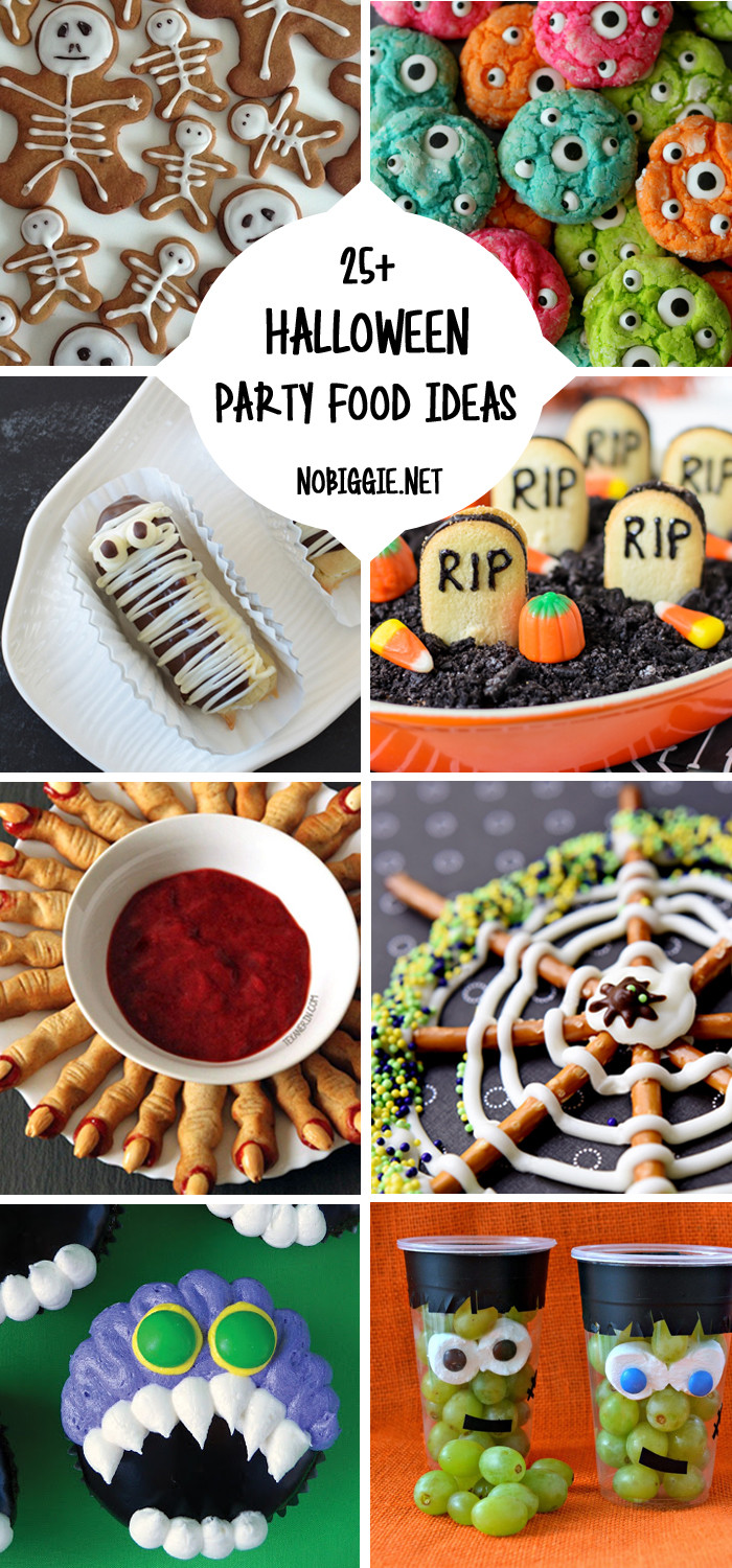 Halloween Party Snack Ideas  25 Halloween Party Food Ideas