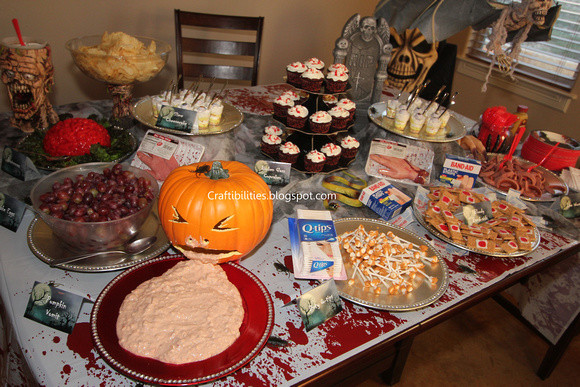 Halloween Party Snack Ideas  Halloween Party IDEAS frightful finger foods and