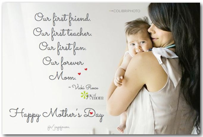 Happy 1St Mothers Day Quotes  457 best images about Joy of Mom on Pinterest