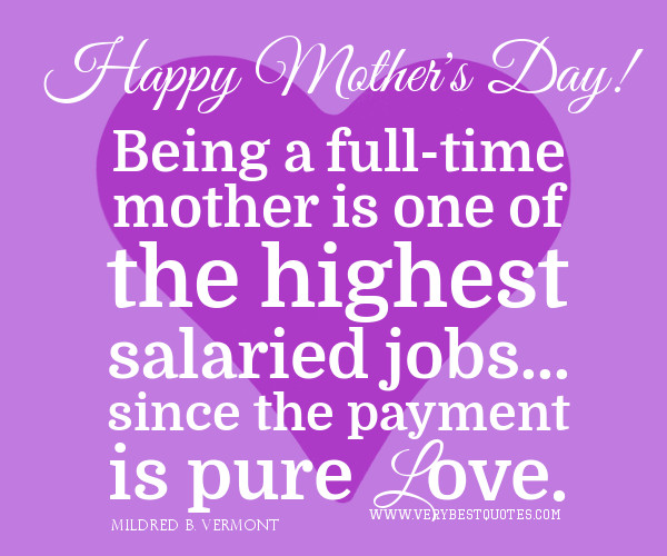 Happy 1St Mothers Day Quotes  First Time Mothers Day Quotes QuotesGram