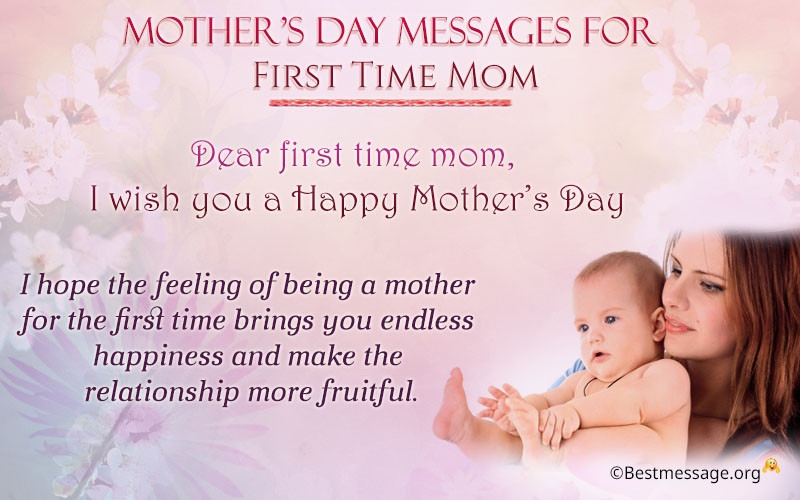 Happy 1St Mothers Day Quotes  Mother's Day Wishes