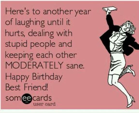 Happy Birthday Best Friend Funny  Best 25 Happy birthday best friend ideas on Pinterest