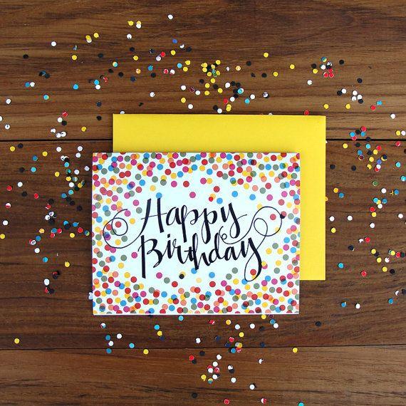 Happy Birthday Card Diy  Best 25 Diy birthday cards ideas on Pinterest