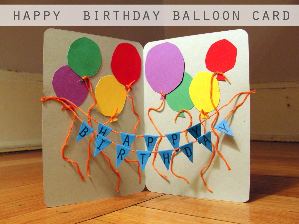 Happy Birthday Card Diy  Craft a handmade Birthday card