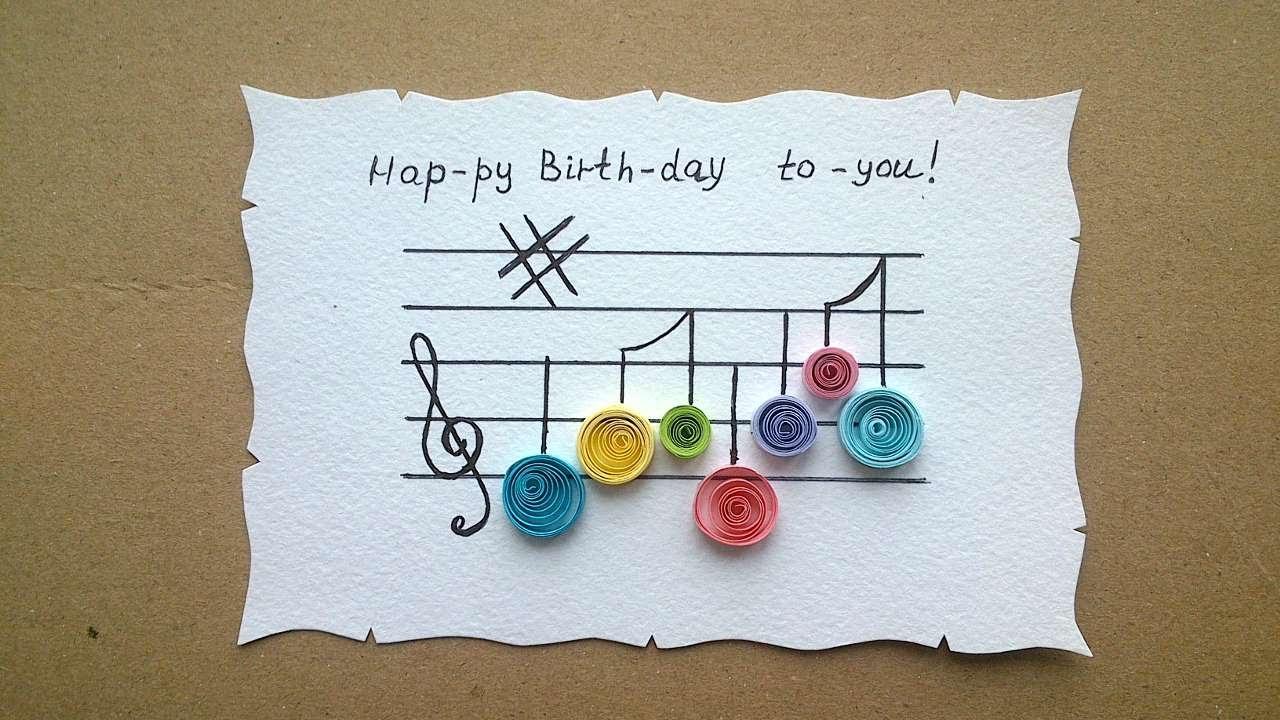 Happy Birthday Card Diy  How To Make A Happy Birthday Greeting Card DIY Crafts