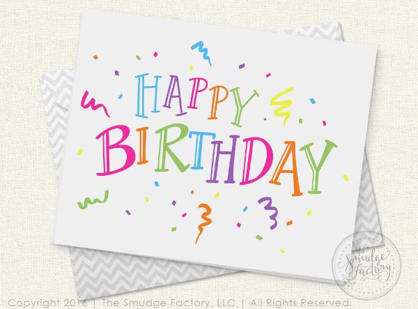 Happy Birthday Card Diy  40 Birthday Card Designs & Examples PSD AI Vector EPS