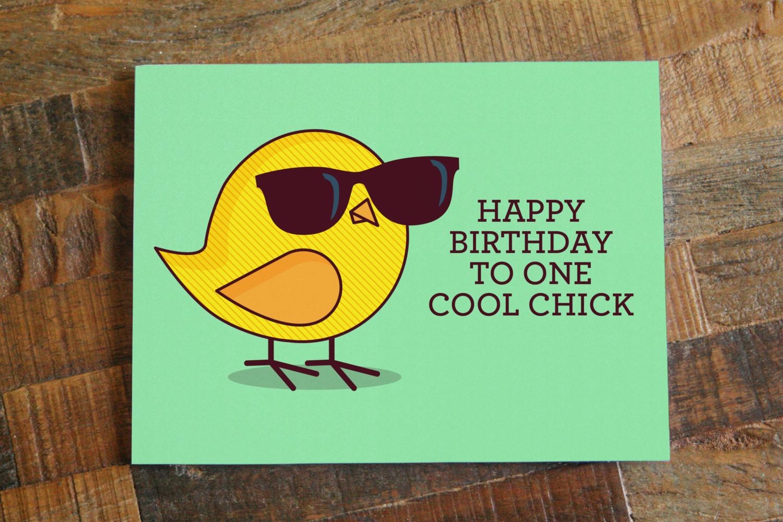 Happy Birthday Funny For Her  Funny Birthday Card For Her Happy Birthday to e Cool