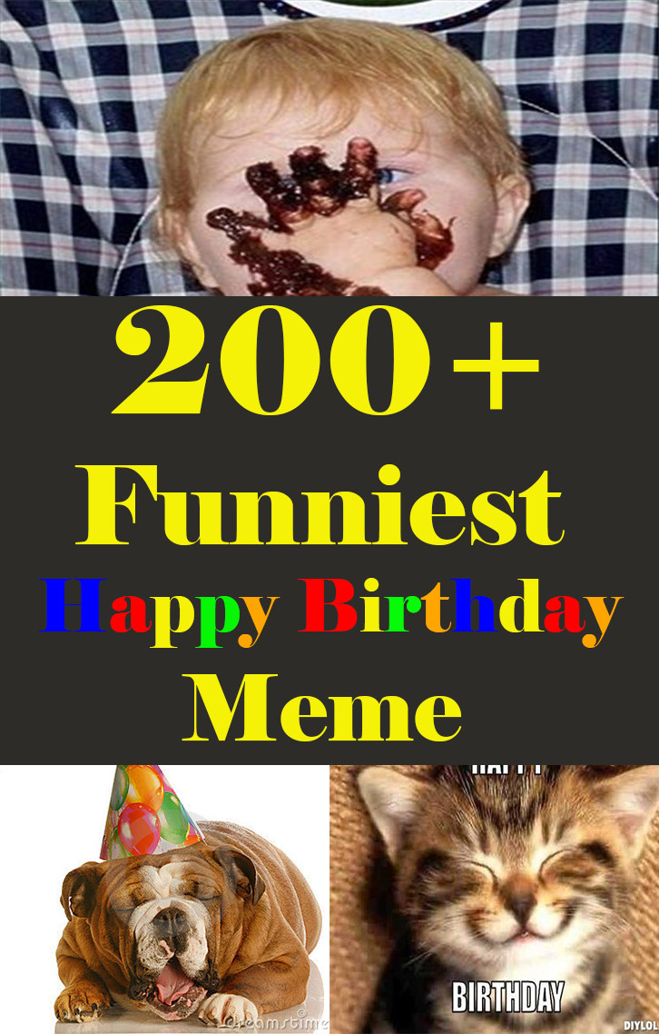 Happy Birthday Funny For Her  200 Funniest Birthday Memes for you Top Collections