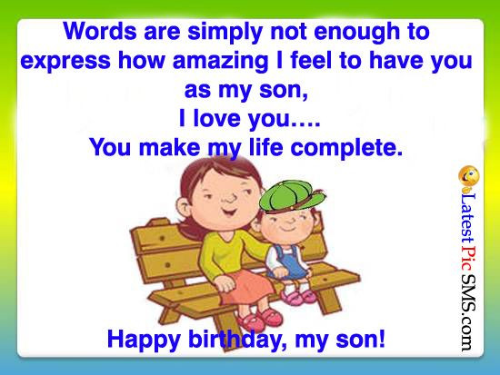 Happy Birthday Funny Son  17 Best Birthday Wishes Quotes on Pinterest