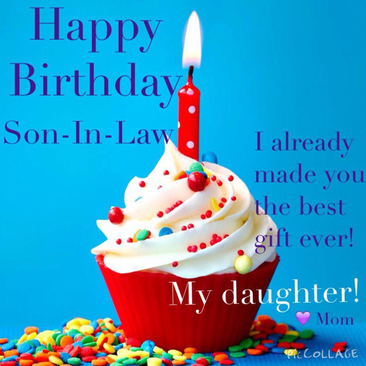Happy Birthday Funny Son  Happy Birthday to the best son in law Humor