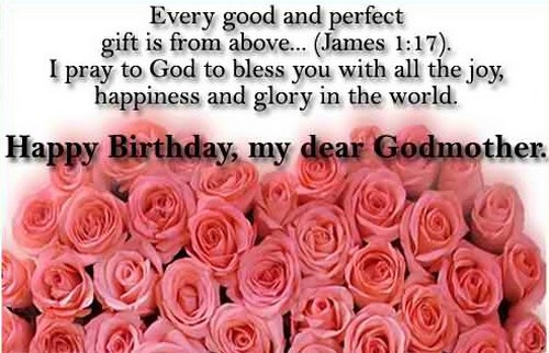 Happy Birthday Godmother Quotes  Happy Birthday Godmother Quotes and Messages