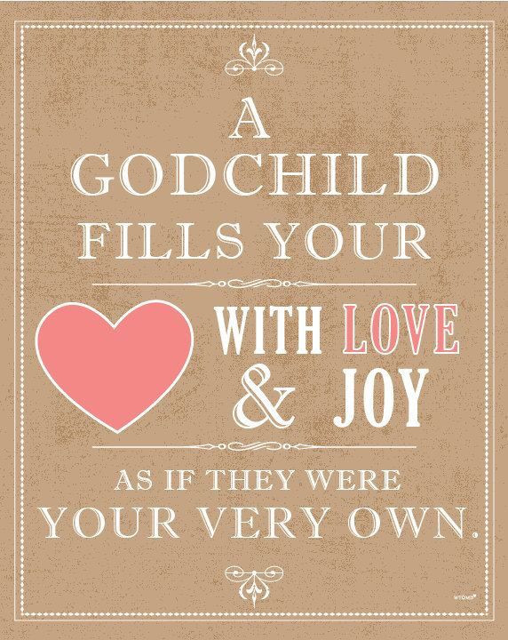 Happy Birthday Godmother Quotes  Love for your godchild Love Pinterest
