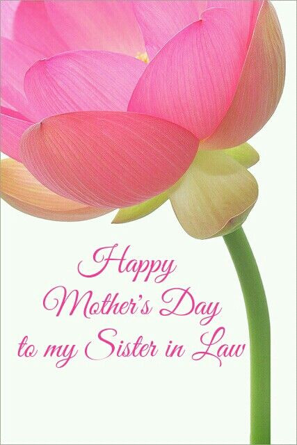 Happy Mothers Day Mother In Law Quotes  9 best images about sister in law on Pinterest