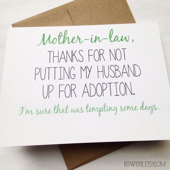 Happy Mothers Day Mother In Law Quotes  25 Best Ideas about Funny Mothers Day on Pinterest