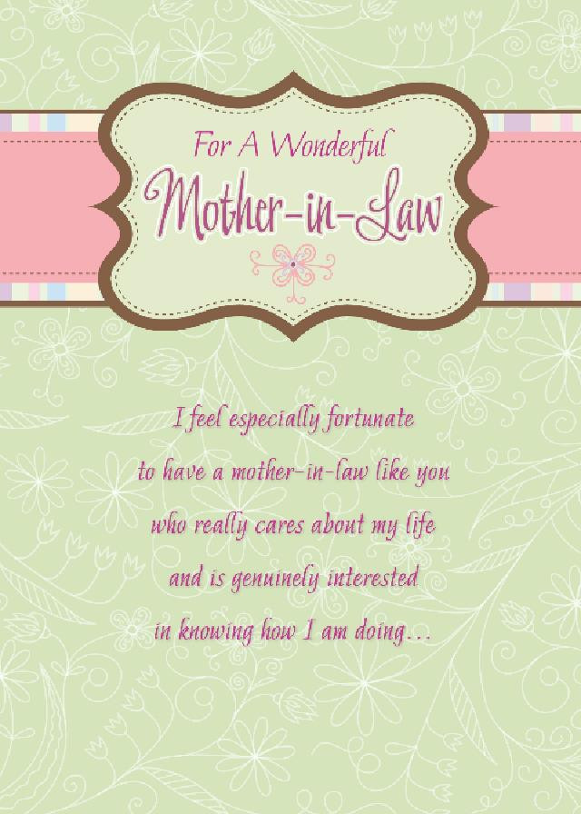 Happy Mothers Day Mother In Law Quotes  For A Wonderful Mother In Law Mother In Law Day