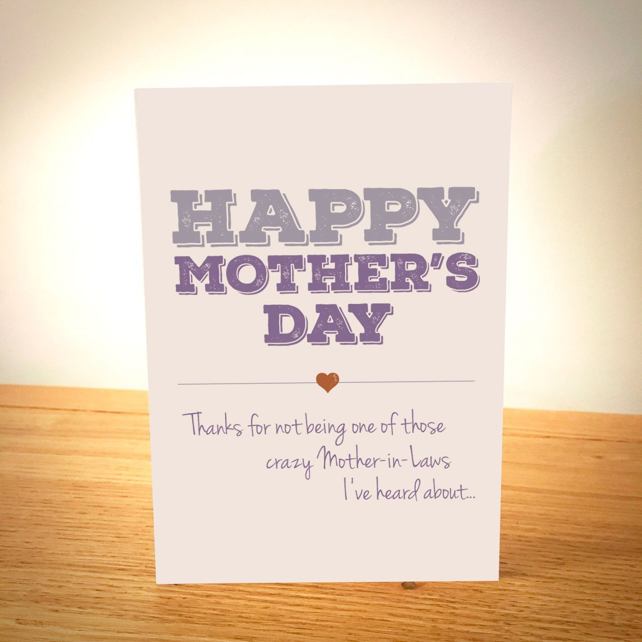 Happy Mothers Day Mother In Law Quotes  Happy Mother s Day Card Crazy Mother in Law