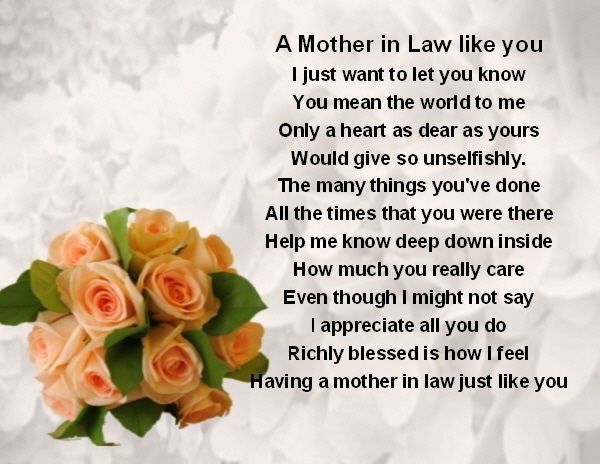 Happy Mothers Day Mother In Law Quotes  40 Beautiful Heart Touching Mother In Law Quotes