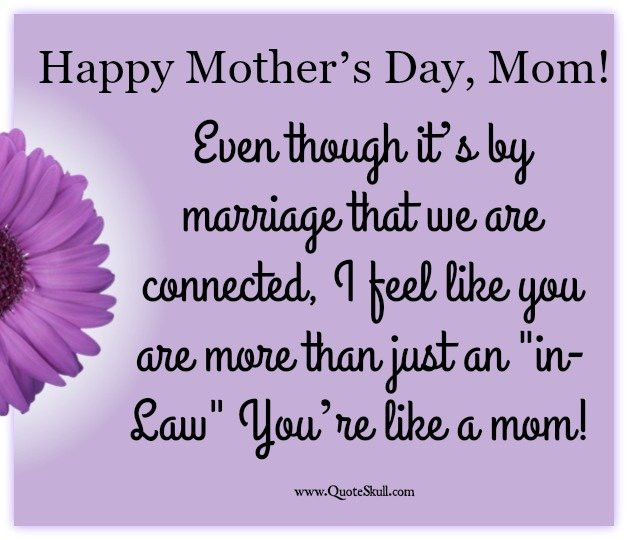 Happy Mothers Day Mother In Law Quotes  35 Happy Mothers Day Quotes for Mother in Law