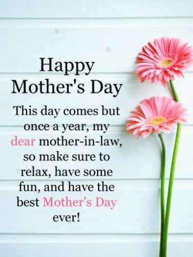 Happy Mothers Day Mother In Law Quotes  9