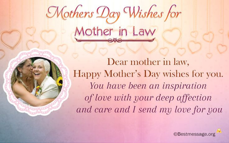 Happy Mothers Day Mother In Law Quotes  34 best Mothers Day Wishes images on Pinterest