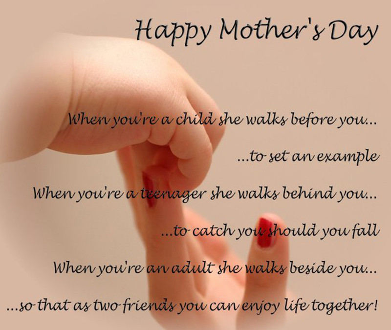 Happy Mothers Day To All Mothers Quotes  Best 30 Mothers Day Poems & Quotes