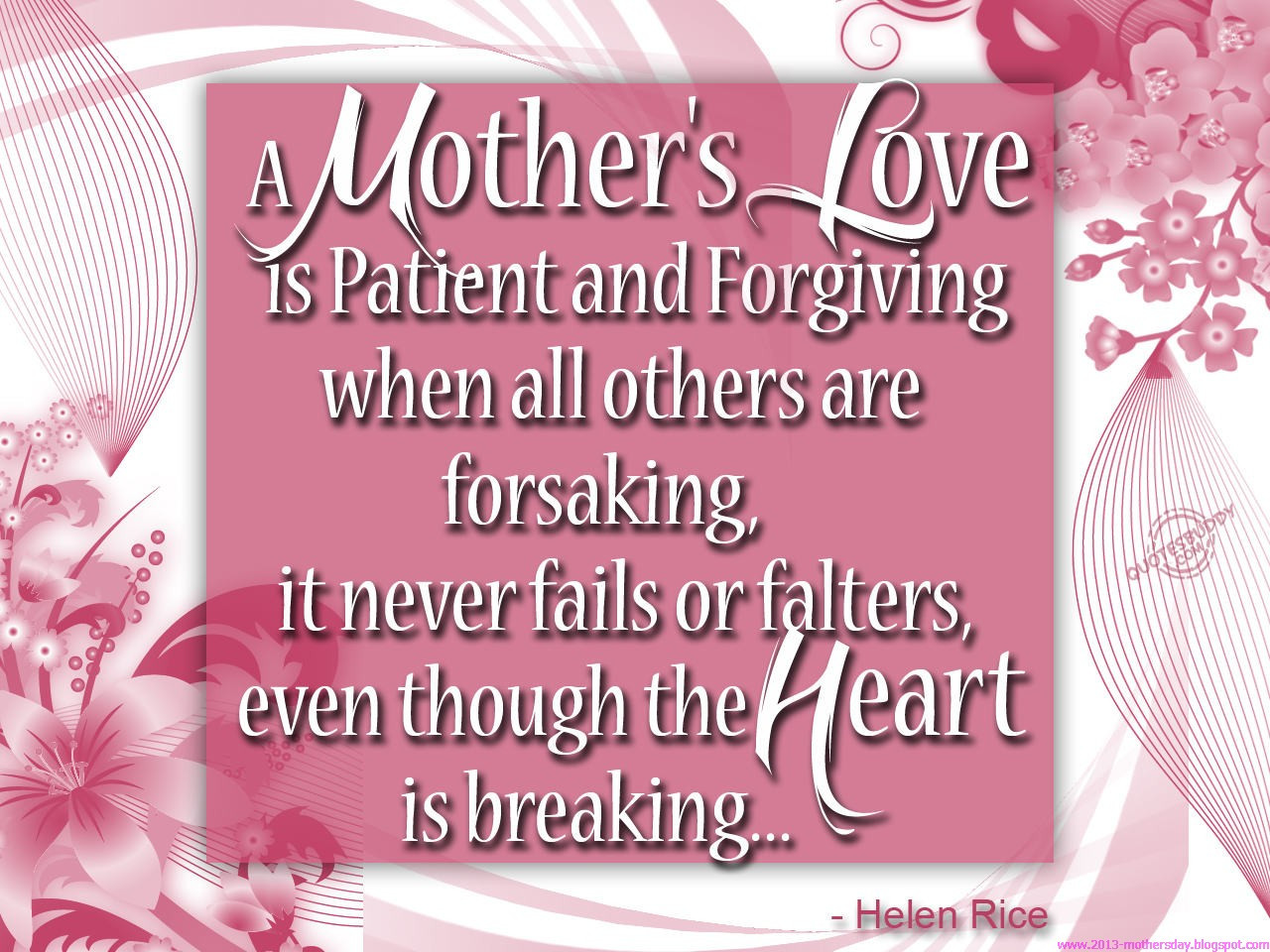Happy Mothers Day To All Mothers Quotes  March 2015