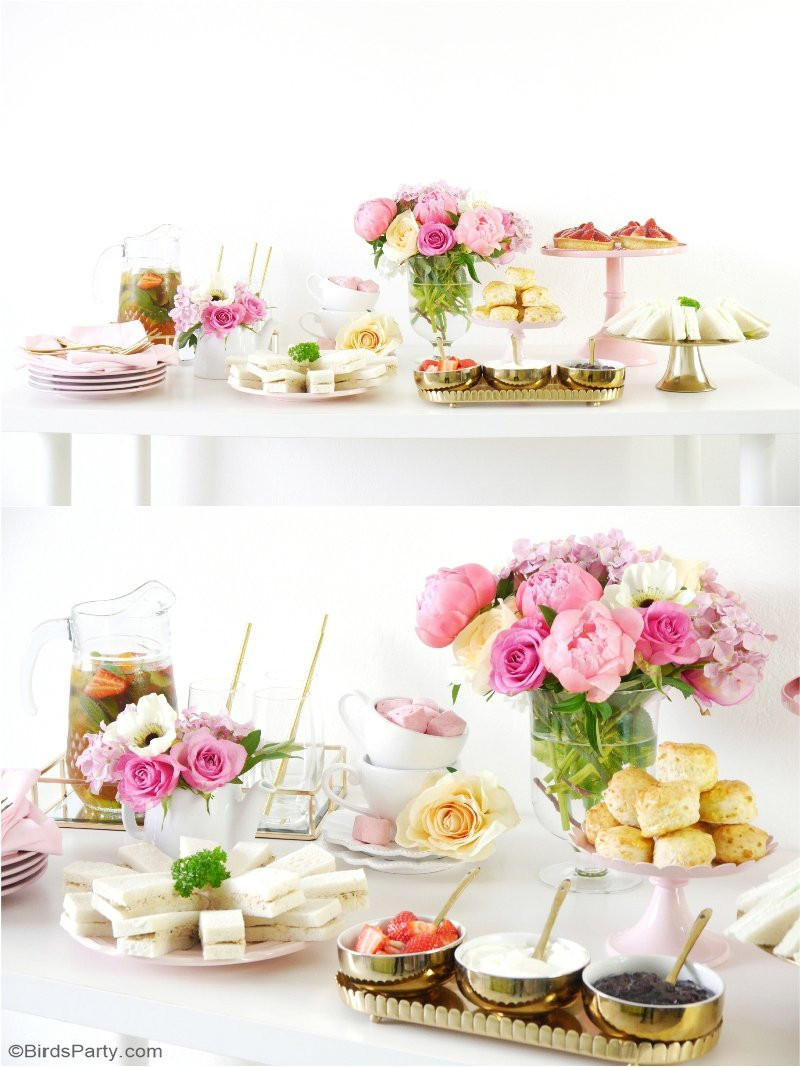 High Tea Party Ideas  Styling a Pretty Royal High Tea Party Party Ideas