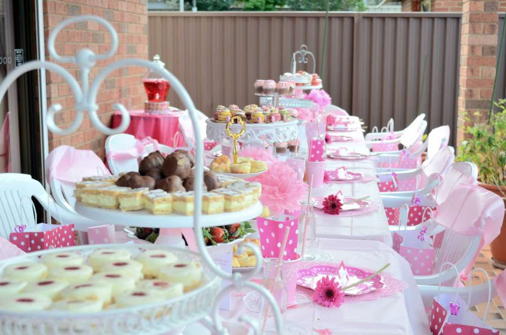 High Tea Party Ideas  Melina s Pamper High Tea Party Birthday Party Ideas