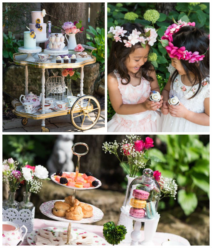 High Tea Party Ideas  Kara s Party Ideas Outdoor High Tea Party