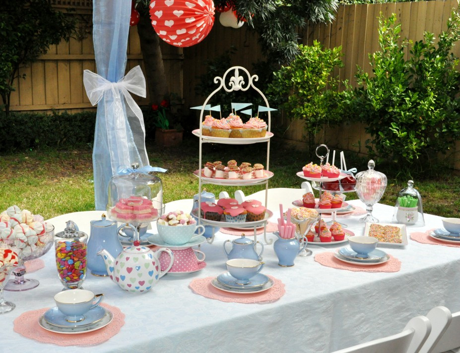 High Tea Party Ideas  Coffee table centerpieces high tea party ideas la s