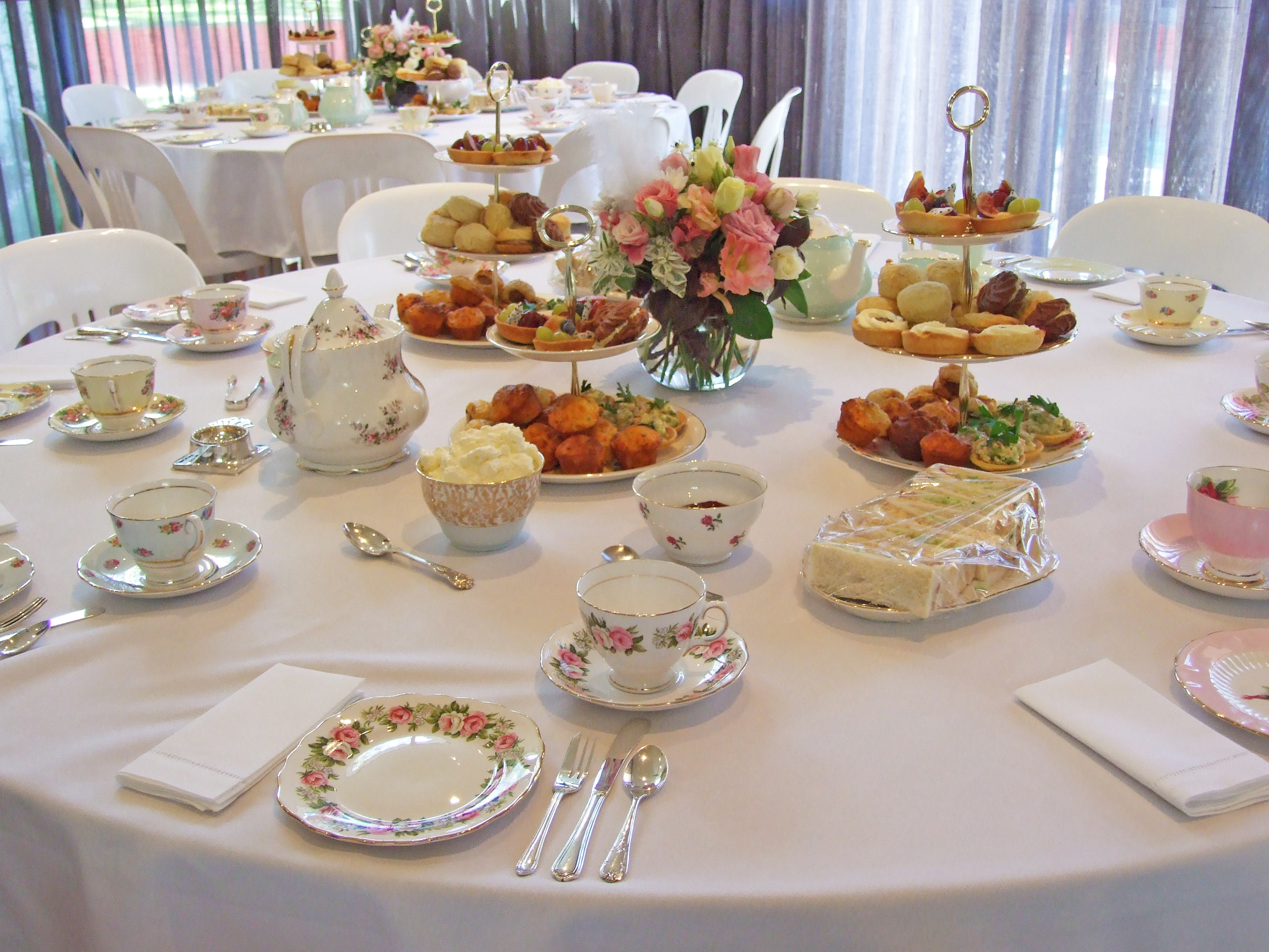 High Tea Party Ideas  Antiquitea High Teas & Events