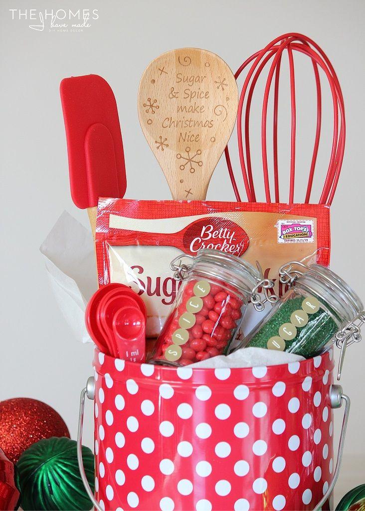 Holiday Baking Gift Ideas  Best 20 Baking Gift Baskets ideas on Pinterest