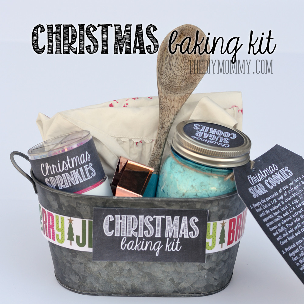 Holiday Baking Gift Ideas  A Gift in a Tin Christmas Baking Kit