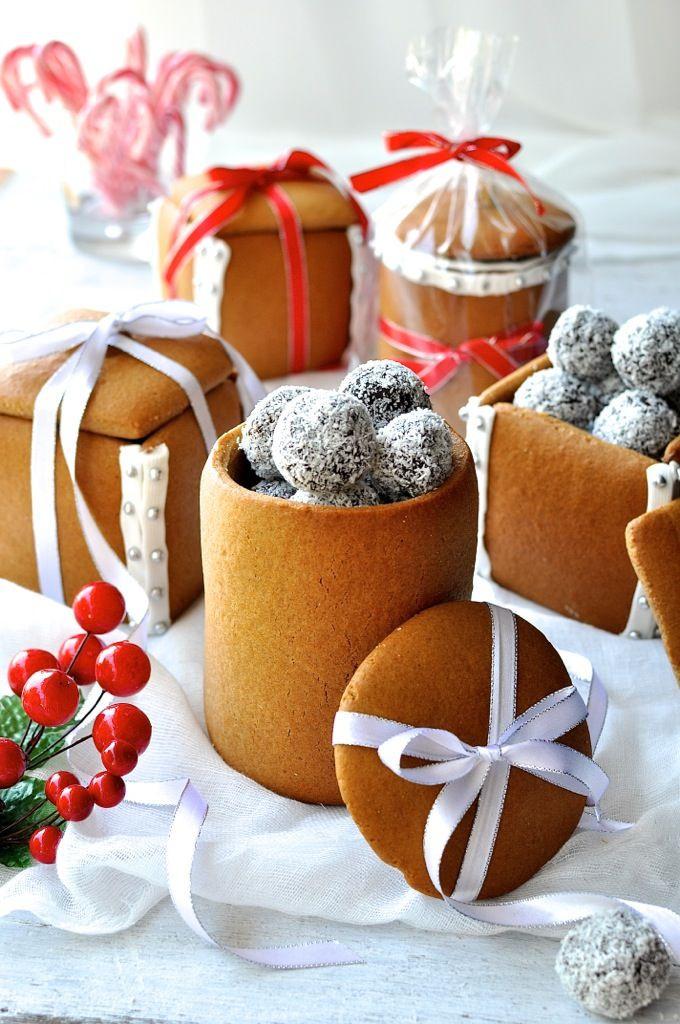 Holiday Baking Gift Ideas  Gingerbread Box & Mason Jars Recipe