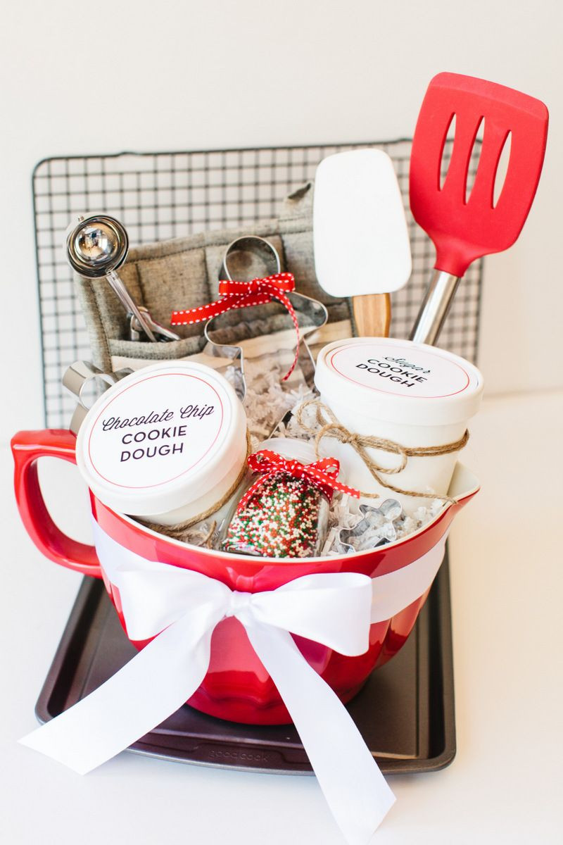 Holiday Baking Gift Ideas  Holiday Cookie Gift Basket