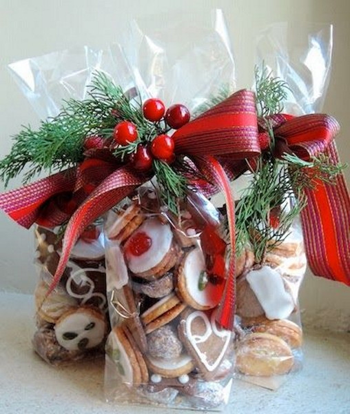 Holiday Cookies Gift Ideas  Best Christmas Food Gift Ideas Pink Lover
