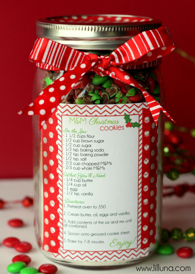 Holiday Cookies Gift Ideas  Christmas Cookie Jar Gift Idea