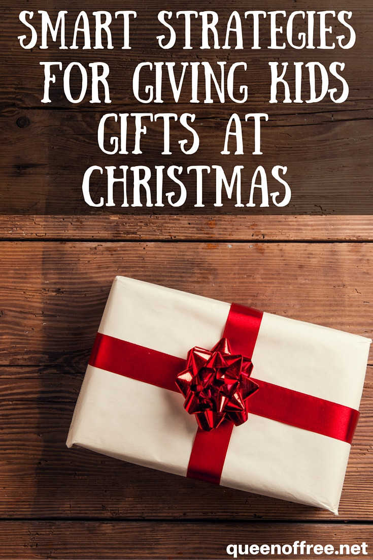 Holiday Gift Giving Ideas  Smart Christmas Gift Giving Ideas for Kids Queen of Free
