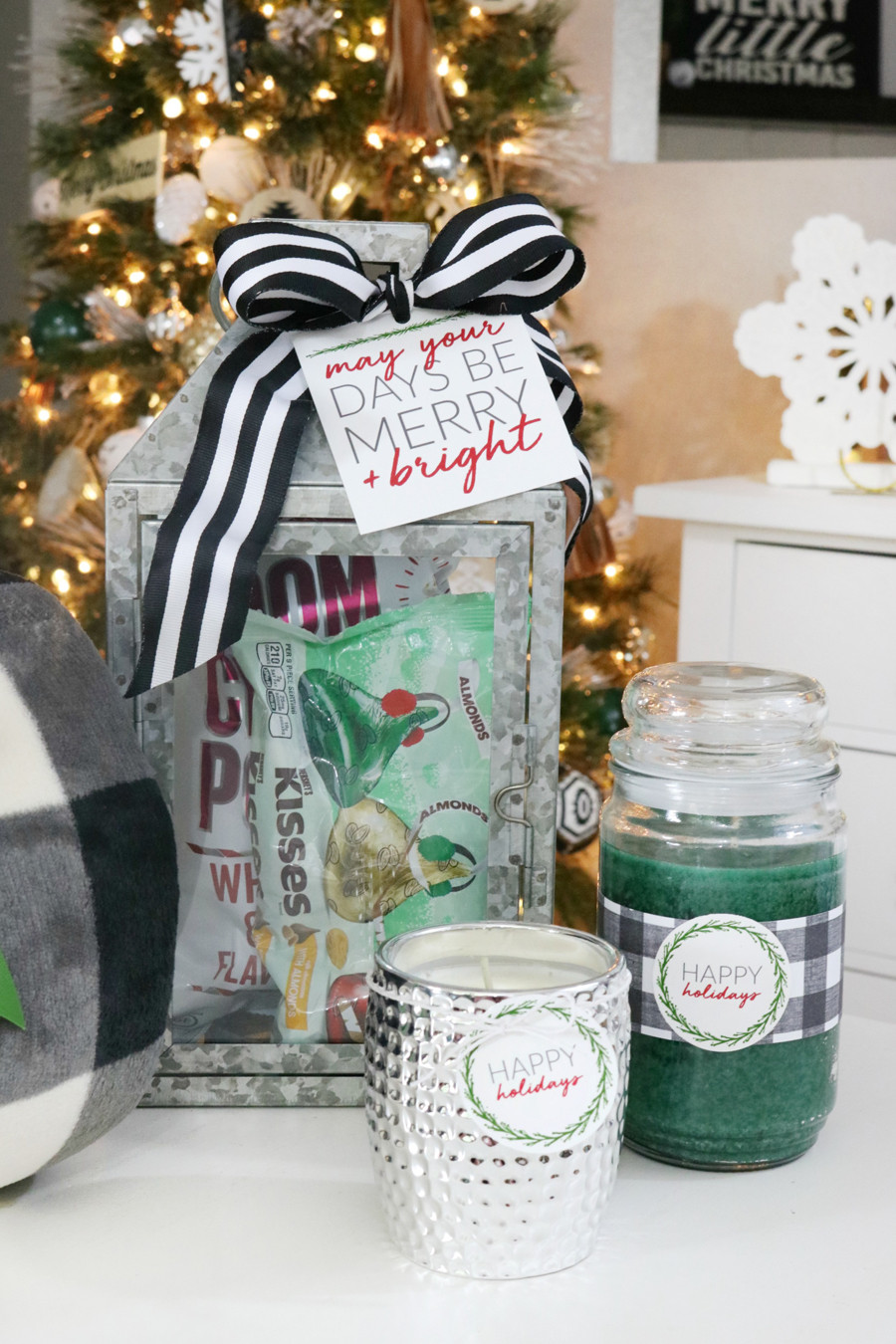 Holiday Gift Giving Ideas  Easy Holiday Gift Giving Ideas with Printable Tags